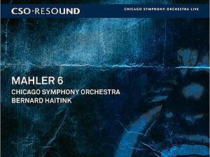 CSO Mahler album cover