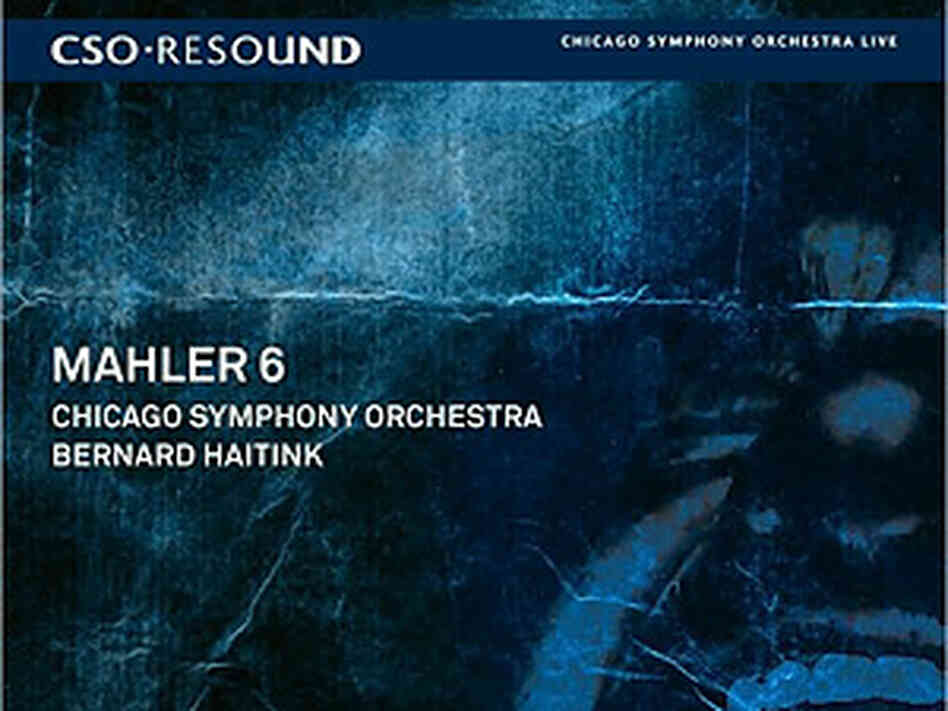 CSO Mahler album cover