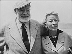Ernest and Mary Hemingway