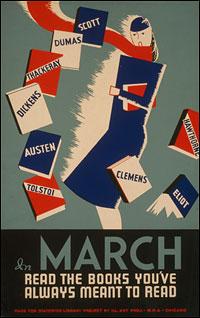 WPA Books Poster