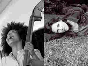 Esperanza Spalding (left) and Kate McGarry (300)