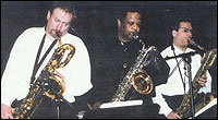 Three Baritone Saxophone Band... Ronnie Cuber, Howard Johnson, Gary Smulyan