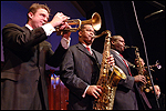Jeremy Davenport, Victor Goines, Wessell Anderson. Photo by Ray Marklin Photography