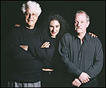 Larry Coryell, Badi Assad and John Abercrombie.