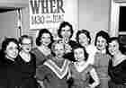 A gathering of women staffers in Memphis in 1955