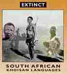 The cover of the CD about extinct South African Languages with native people on the front.
