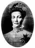 "Aldolfina ""Fina"" Bergroth, 1906 wedding picture."