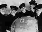 The Five Sullivan Brothers at the U.S. Navy yard, 1942.