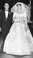 Bruce Krull and Judith Weinstein at their wedding in 1958.
