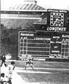 Bill Mazeroski hits the winning home run for the Pirates 1960 World Series title.