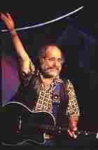 Robert Hunter in concert.