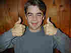 Brent flashes a thumbs up