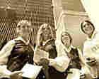 Four Word Trade Center stewardesses