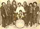 Steelband as a family band in the 1970s, with patriarch Hugh Borde, his five sons and two daughters.