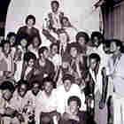 Trinidad Tripoli Steel Band with John Wayne, 1971