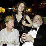 Sofia Coppola and parents at Academy Awards