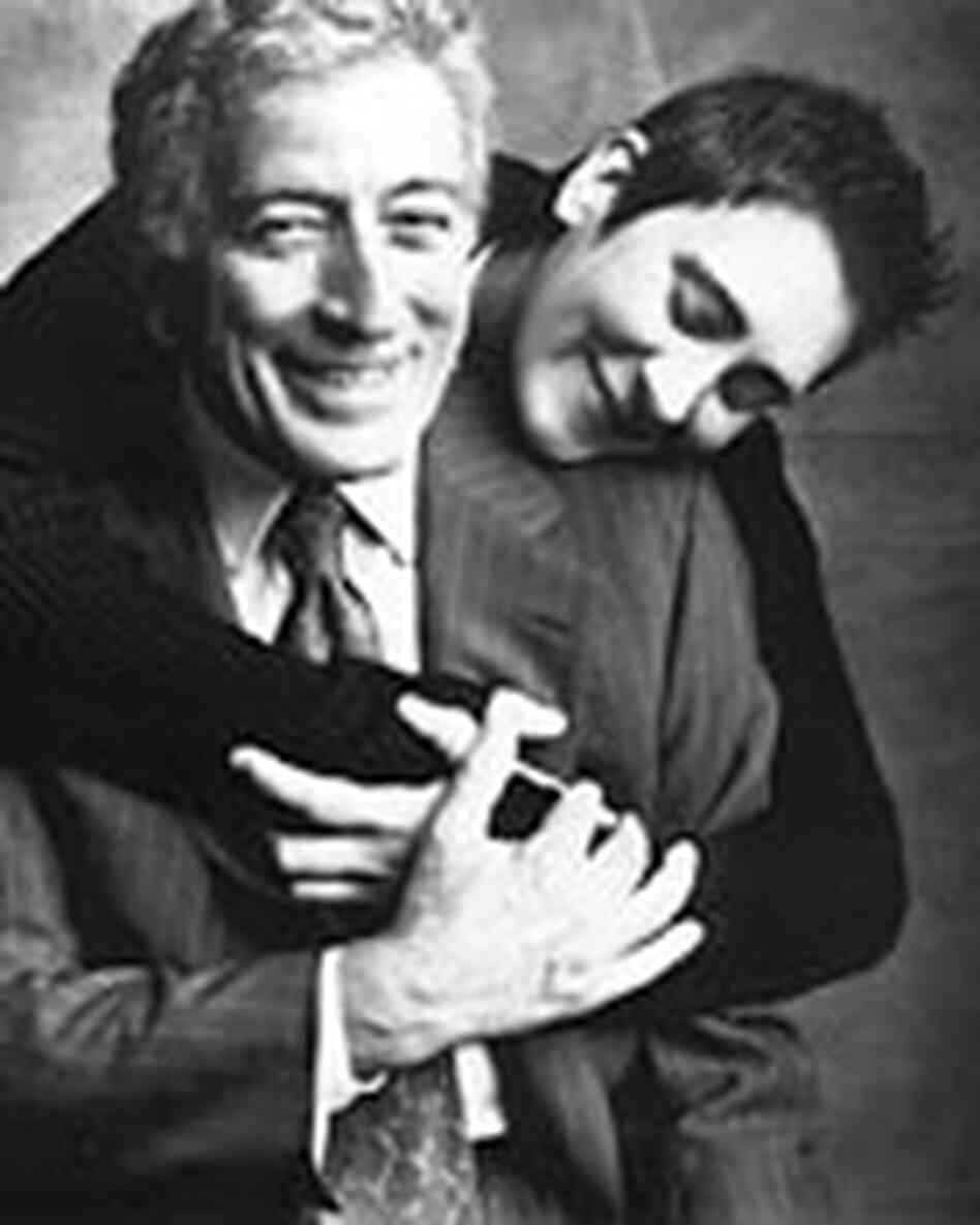 Tony Bennett and k.d. lang