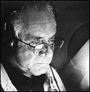 Cash at recording session