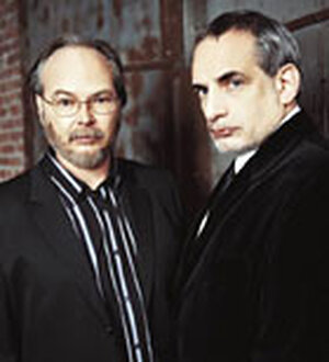 Walter Becker, left, and Donald Fagen