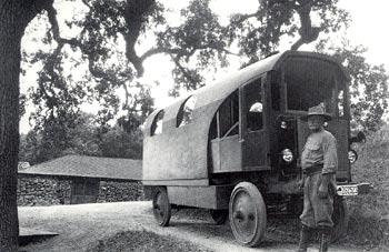 Charles Kellogg and his Travel Log.