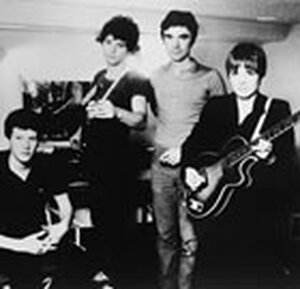 Talking Heads, in the band's early days.