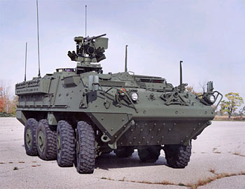 The 'Stryker' Interim Armored Vehicle
