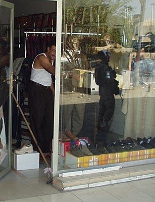 Baghdad shoe store