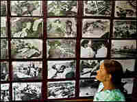A woman in Bhopal views a photo exhibition on the 1984 gas tragedy in the Indian city. Reuters
