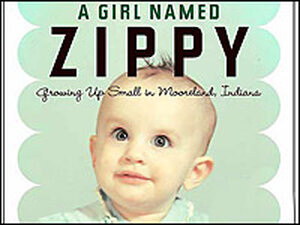 Detail from the cover of 'A Girl Named Zippy' by Haven Kimmel.