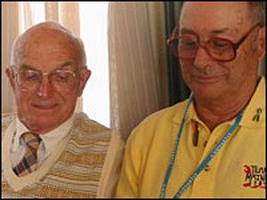 Dr. Joseph Murray (left) and Ronald Herrick