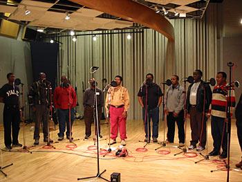 Ladysmith Black Mambazo in NPR's Studio 4A