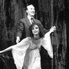 Allegra Kent with George Balanchine