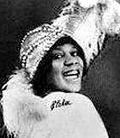Bessie Smith (1900-1937), one of America's greatest jazz singers.