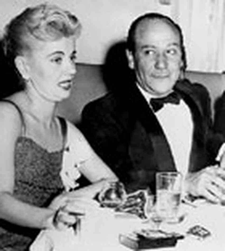 Frank Loesser with his wife, Jo Sullivan