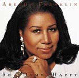 Aretha Franklin's 'So Damn Happy' CD Cover