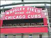 Sign for Wrigley Field