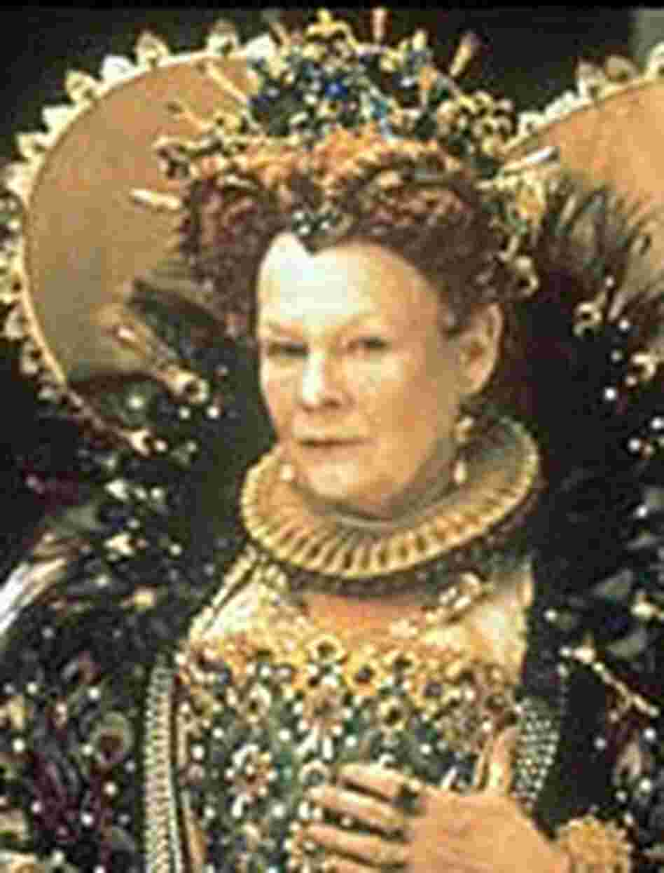 Judi Dench, as Queen Elizabeth