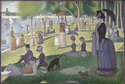 'A Sunday on La Grande Jatte-1884'