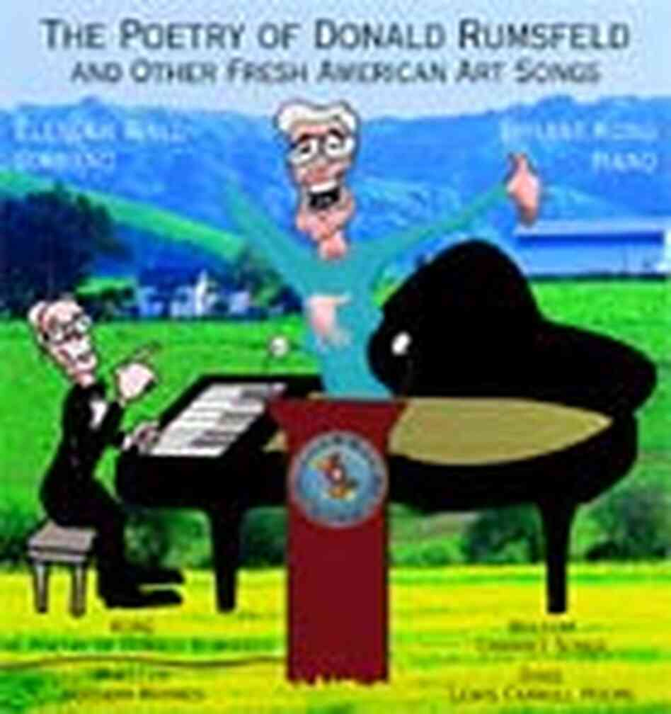 'The Poetry of Donald Rumsfeld' CD Cover