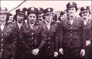 Kate Nolan, third from right, with fellow Army nurses