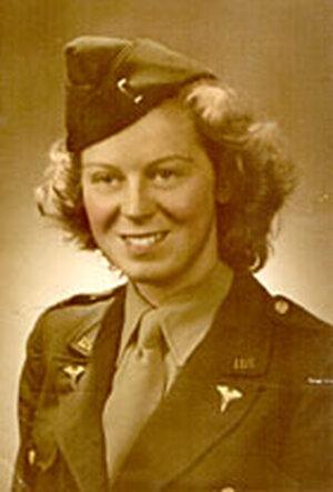 Katherine Flynn Nolan in 1943.