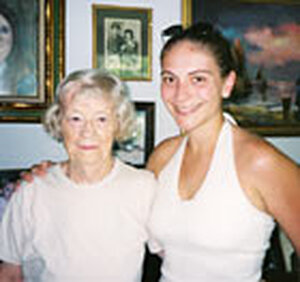 Kate Nolan, pictured recently with her granddaughter, Nooriel Nolan.
