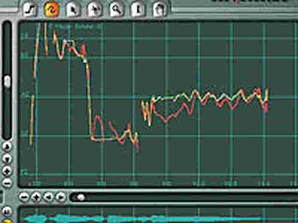 Screenshot of the Auto-Tune software