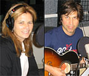 Margo and Michael Timmins of the Cowboy Junkies perform at NPR studios.