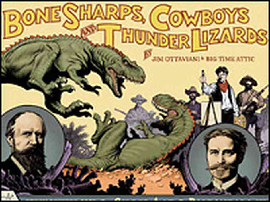 The graphic novel  'Bone, Sharps, Cowboys, and Thunder Lizards'