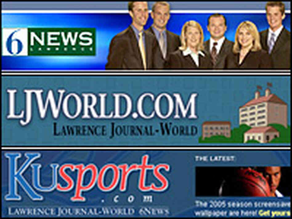 The World Co.'s Channel 6 News, KU Sports, and 'Lawrence Journal-World'