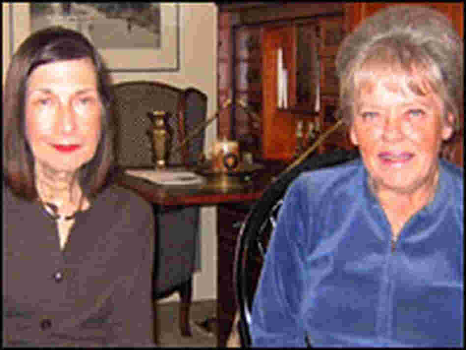 Maxine Fisher, left, and Beatrice Sharp Slutsky