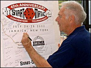 Strat-O-Matic creator Hal Richman