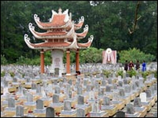 Truong Son, where more than 10,000 are buried, is the largest cemetery of war dead in Quang Tri Province.