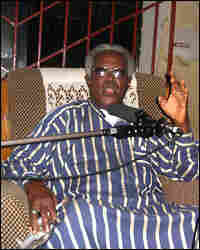 His Highness Cabri George Omieh, Igoni the XXI of the Kingdom of Odioma. Credit: Jim Wallace.
